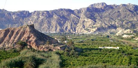 Casas rurales en archena valle de ricote murcia caser o de las palmeras entorno - Casa rural valle de ricote ...